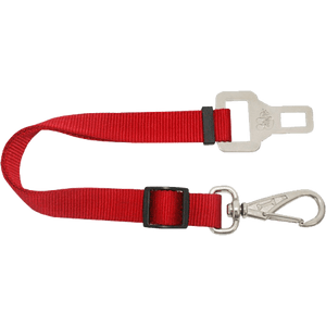 Adaptador para Cinto de Segurança Vermelho AMF Pet P
