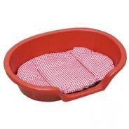 Cama-Plastica-com-Colchao-Vermelha-Rotoplas-N1