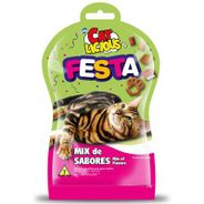 Petisco Cat Licious Mix de Sabores 40g