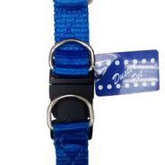 Peitoral Soft Nylon 20mm Azul Duster