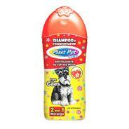 Shampoo-para-Caes-Morango-2-em-1-Plast-Pet-Care-500ml