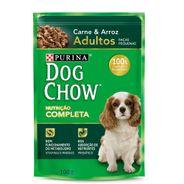 Alimento-Umido-Dog-Chow-Adultos-Racas-Pequenas-Carne-e-Arroz-100g