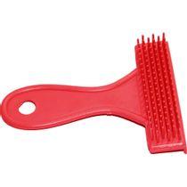 Escova-Plastica-Rastelo-Vermelha-TudoPet