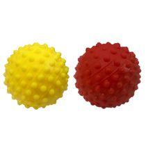 Bola-Mini-Travinha-Amarela-e-Vermelha-Animania