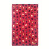 Cobertor-Especial-Patinhas-Vermelho-Bichinho-Chic
