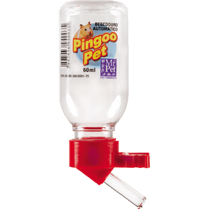 Bebedouro Plástico para Hamster TudoPet