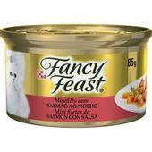 Alimento Úmido Fancy Feast Salmão ao Molho