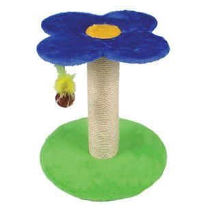 Arranhador-Flor-Azul-M