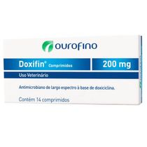 Doxifin com 14 comprimidos Ourofino