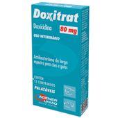 Doxitrat 80 mg com 12 comprimidos Agener