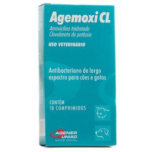 Antibiótico Agemoxi CL Cães e Gatos Agener - 50mg