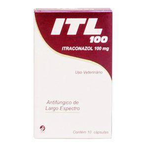 Itl 100 Itraconazol 100mg 10 caps Cepav