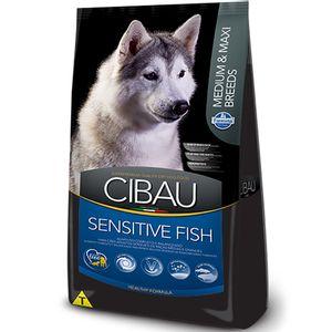 Racao-Cibau-Sensitive-Fish-Caes-Medios-e-Grandes