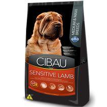 Racao-Cibau-Sensitive-Lamb-Caes-Medios-e-Grandes