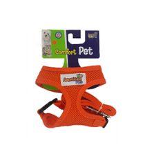 Guia-e-Peitoral-Confort-Laranja-American-Pets