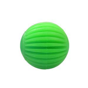 Bola-Borracha-Facetada-Verde-Art-Injet