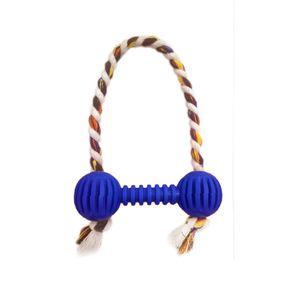 Brinquedo-Halteres-Vazado-com-Corda-Azul-Art-Injet