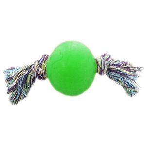 Bola-Borracha-Macica-com-Corda-Verde-Art-Injet