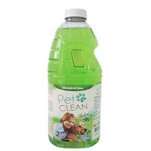 Eliminador-de-Odores-Herbal-Pet-Clean-2litros