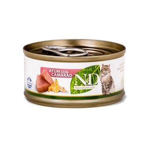 Alimento-Umido-NeD-Feline-Atum-com-Camarao
