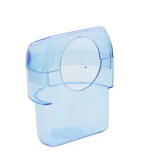 Comedouro-Plastico-Rolle-Meia-Lua-Azul