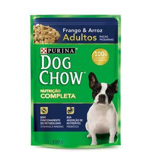 Alimento-Umido-Dog-Chow-Adultos-Racas-Pequenas-Frango-e-Arroz-100g