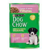 Alimento-Umido-Dog-Chow-Filhotes-Carne-e-Arroz-100g