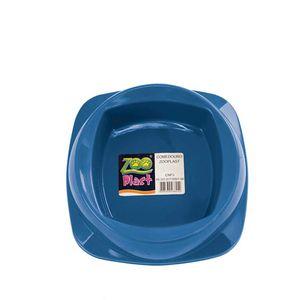 Comedouro-para-Gatos-Azul-Zoo-Plast-160ml