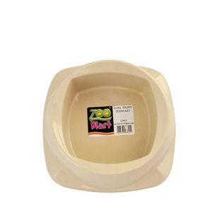 Comedouro-para-Gatos-Bege-Zoo-Plast-160ml