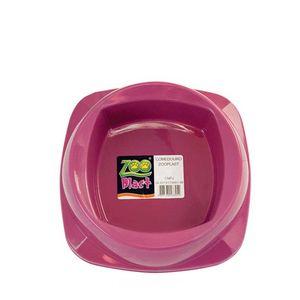 Comedouro-para-Gatos-Rosa-Zoo-Plast-160ml