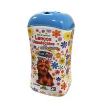 Lencos-Umedecidos-para-Caes-e-Gatos-Plast-Pet-Care-Azul