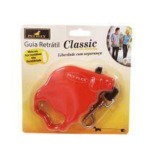 Guia-Retratil-Classic-Vermelha-Pet-Flex-ate-5kg