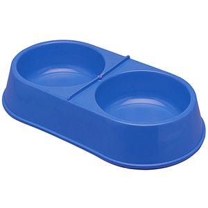 Comedouro-Plastico-Duplo-Grande-Azul