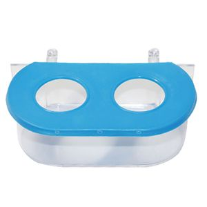Comedouro-Oval-Com-Gancho-2-Furos-Azul-TudoPet