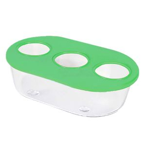 Comedouro-Oval-3-Furos-Verde-TudoPet