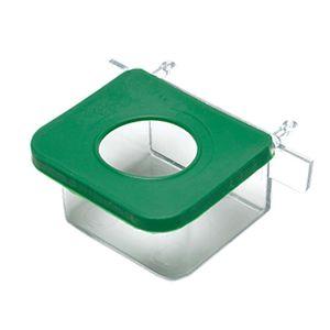 Comedouro-Retangular-com-1-Furo-Verde-TudoPet