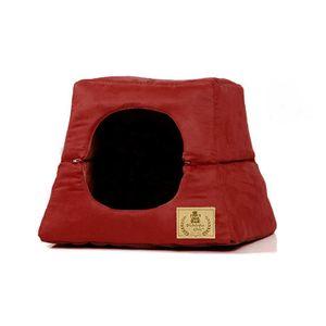 Cama-Casa-Luxo-Vermelha-Bichinho-Chic-1