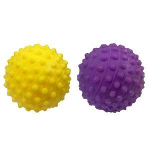 Bola-Mini-Travinha-Amarela-e-Roxa-Animania