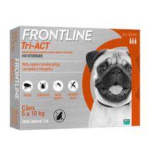 Antipulgas-e-Carrapatos-Frontline-Tri-ACT-Caes-5-a-10kg-3-Pipetas