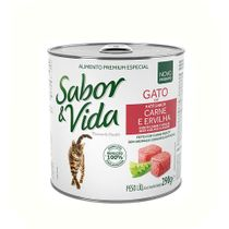 Alimento-Umido-Sabor-e-Vida-Gatos-Carne-e-Ervilha-280g