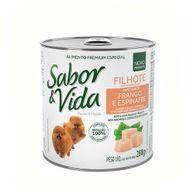 Alimento-Umido-Sabor-e-Vida-Caes-Filhotes-Frango-e-Espinafre-280g