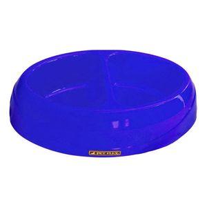 Comedouro-Duplo-Azul-Pet-Flex