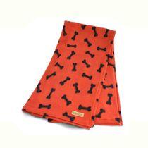 Cobertor-Especial-Ossinhos-Laranja-Bichinho-Chic