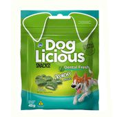Petisco-Dog-Licious-Snacks-Racas-Pequenas-Dental-Fresh-45g