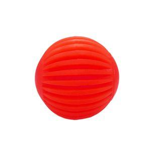 Bola-Borracha-Facetada-Vermelha-Art-Injet