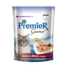 Alimento-Umido-Premier-Gourmet-Gatos-Atum-e-Arroz-Integral-70g