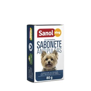 Sabonete-Antipulgas-Sanol-80g
