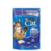 Alimento Úmido Cat Chow Castrados Peixe
