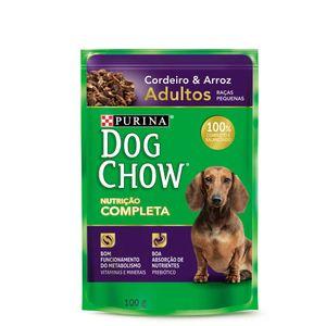 Alimento-Umido-Dog-Chow-Adulto-Racas-Pequenas-Cordeiro-e-Arroz-100g