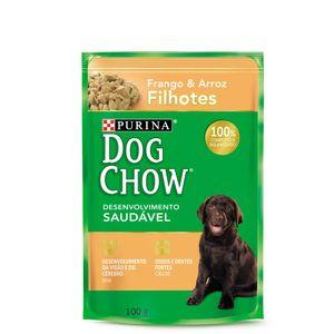 Alimento-Umido-Dog-Chow-Filhote-Frango-e-Arroz-100g